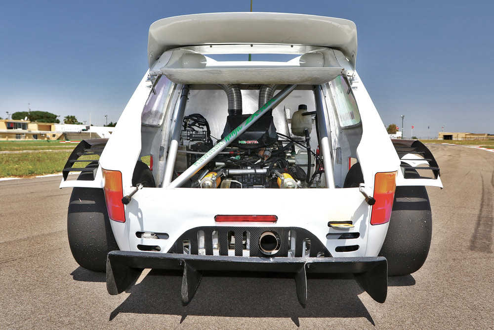 Fiat 126 Plus elaborata 175 CV con preparazione Cataldo Prototipi