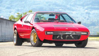 Ferrari Dino 208 GT4 auto sportiva storica elaborata