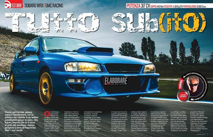 Subaru Impreza WRX - Elaborare 256