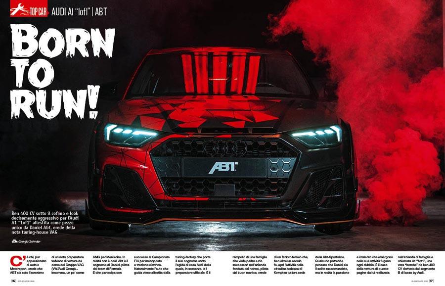 """Audi A1 """"1of1"""" elaborata 400 CV con preparazione Abt"""