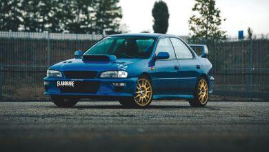 Subaru Impreza WRX - anteriore