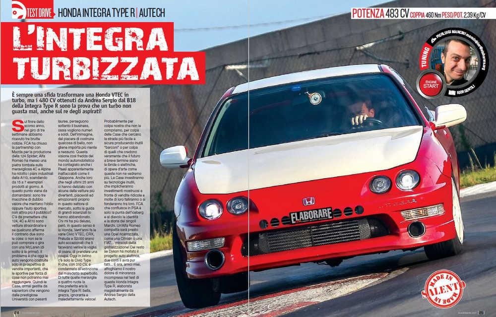 Honda Integra Type R elaborata 480 CV con preparazione - Elaborare 257