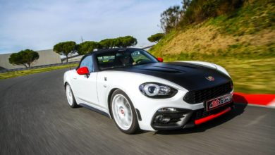 Photo of Abarth 124 Spider elaborata by Abbasciano