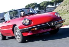 Photo of Alfa Romeo Spider elaborata by ACL