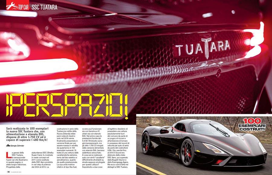 SSC Tuatara Top-Car Elaborare 259 aprile 2020