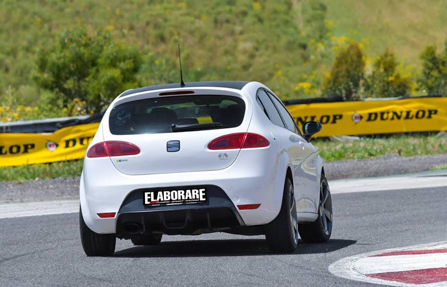Seat Leon Cupra SP elettronica posteriore
