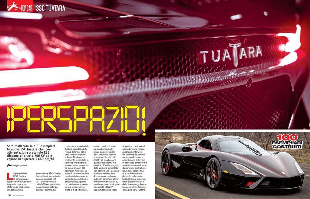 Top Car SSC Tuatara Elaborare 259