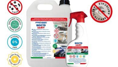 Photo of Disinfettante Fra-Ber Biocyd Sany, per igienizzare e disinfettare l'auto