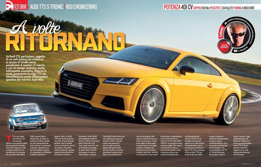 Audi TTS S-Tronic Quattro elaborata 400 CV -  Elaborare 267