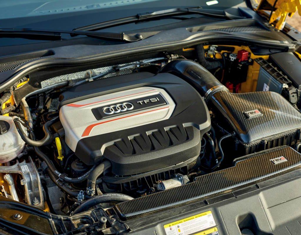 Audi TTS S-Tronic Quattro - motore