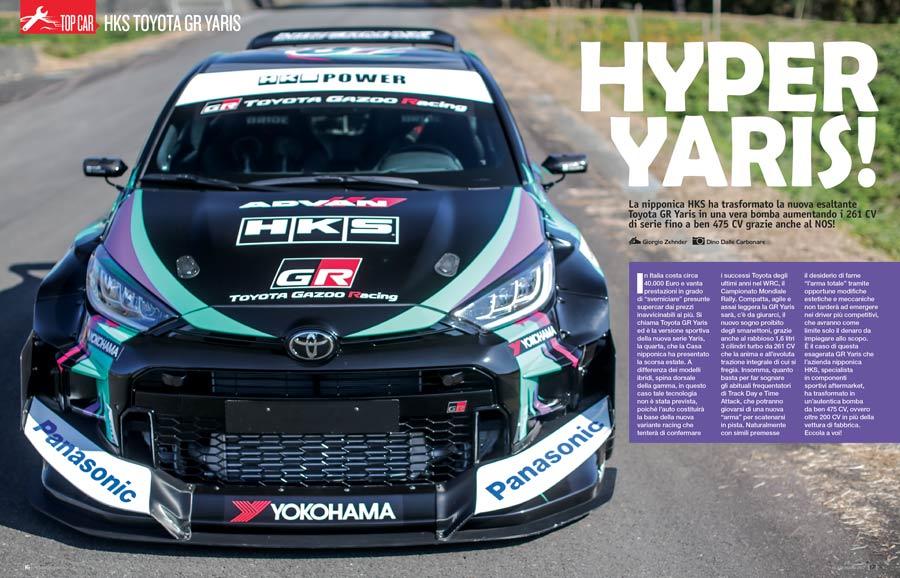 Toyota GR Yaris 475 CV by HKS -  Elaborare 267